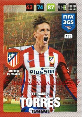 2016-17 - Panini Adrenalyn XL FIFA 365 - N° 135 - Fernando TORRES (Atletico de Madrid)