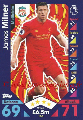 2016-17 - Topps Match Attax Premier League - N° 156