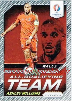Euro 2016 Panini Prizm - N° AQ-04 - Ashley WILLIAMS (Pays de Galles) (All-Qualifying Team)