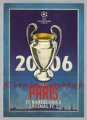 2015-16 - Topps UEFA Champions League Stickers - N° 598 - UEFA Champions League Final 2005-06