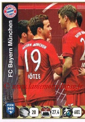 2015-16 - Panini FIFA 365 Stickers - N° 477- Equipe FC Bayern Munich 1