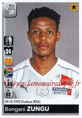 2018-19 - Panini Ligue 1 Stickers - N° 016 - Bongani ZUNGU (Amiens)