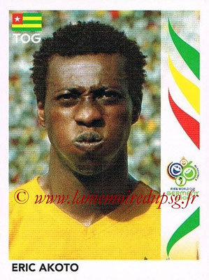 2006 - Panini FIFA World Cup Germany Stickers - N° 515 - Eric AKOTO (Togo)