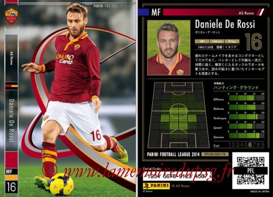 Panini Football League 2014 - PFL08 - N° 025 - Daniele DE ROSSI (AS Rome)
