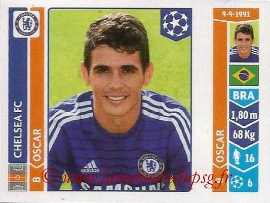 2014-15 - Panini Champions League N° 497 - OSCAR (Chelsea FC)