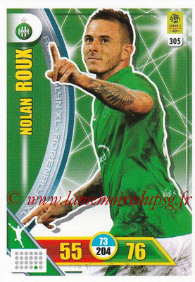 2017-18 - Panini Adrenalyn XL Ligue 1 - N° 305 - Nolan ROUX(Saint-Etienne)