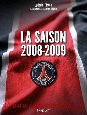 2009-06-25 - PSG, la saison 2008-2009 (Hugo & Compagnie, 143 pages)