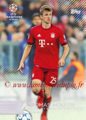 2015-16 - Topps UEFA Champions League Showcase Soccer - N° 137 - Thomas MÜLLER (FC Bayern Munich)