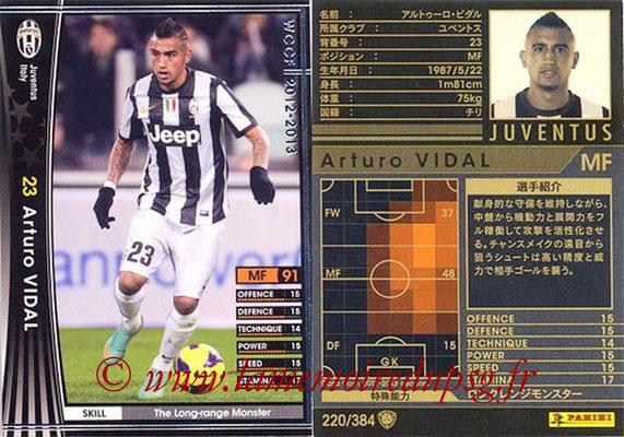 2012-13 - WCCF - N° 220 - Arturo VIDAL (Juventus FC)