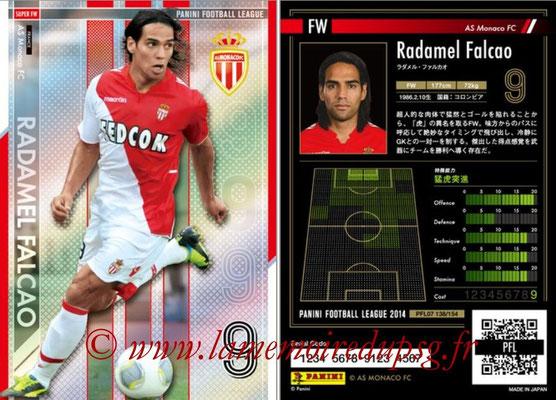 Panini Football League 2014 - PFL07 - N° 138 - Radamel FALCAO (AS Monaco) (Super FW)