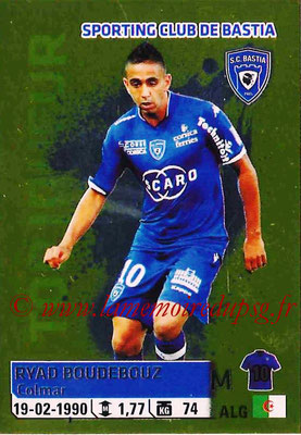 2014-15 - Panini Ligue 1 Stickers - N° 024 - Ryad BOUDEBOUZ (SC Bastia)