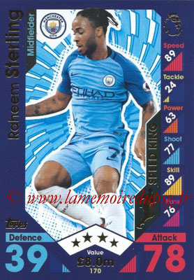 2016-17 - Topps Match Attax Premier League - N° 170