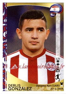 Panini Copa America Centenario USA 2016 Stickers - N° 109 - Derlis GONZALEZ (Paraguay)