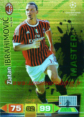 2011-12 - Panini Champions League Cards - N° 344 - Zlatan IBRAHIMOVIC (Milan AC) (Master)