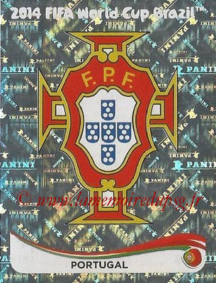2014 - Panini FIFA World Cup Brazil Stickers - N° 507 - Ecusson Portugal
