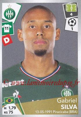 2017-18 - Panini Ligue 1 Stickers - N° 423 - Gabriel SILVA (Saint-Etienne)