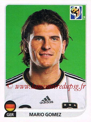 2010 - Panini FIFA World Cup South Africa Stickers - N° 276 - AMario GOMEZ (Allemagne)