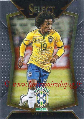 2015 - Panini Select Soccer - N° 024 - WILLIAM (Brésil)