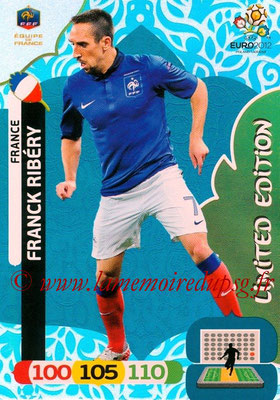 Panini Euro 2012 Cards Adrenalyn XL - N° LE25 - Franck RIBERY (France) (Limited Edition)