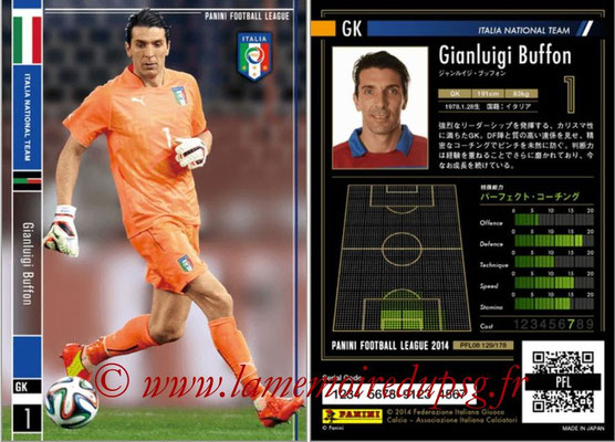 Panini Football League 2014 - PFL08 - N° 129 - Gianluigi BUFFON (Italie)