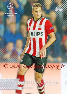 2015-16 - Topps UEFA Champions League Showcase Soccer - N° 031 - Santiago ARIAS (PSV Eindhoven)
