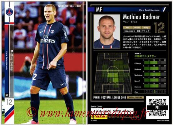 Panini Football League 2013 - PFL02 - N° 068 - Mathieu Bodmer ( Paris Saint-Germain )