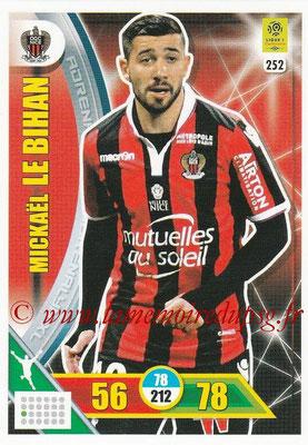 2017-18 - Panini Adrenalyn XL Ligue 1 - N° 252 - Mickael LE BIHAN (Nice)