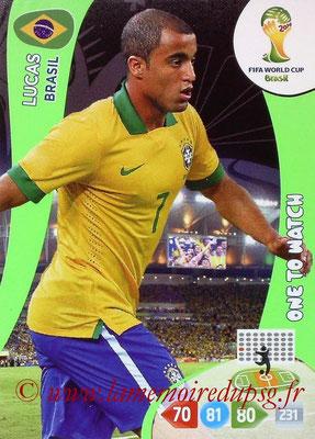 N° 057 - LUCAS (Janv 2013-??, PSG > 2014, Brésil)