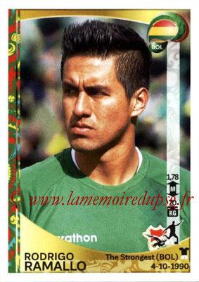 Panini Copa America Centenario USA 2016 Stickers - N° 397 - Rodrigo RAMALLO (Bolivie)