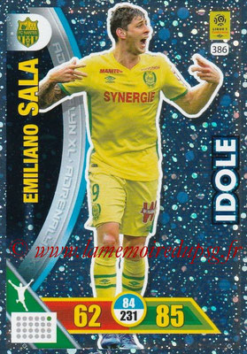 2017-18 - Panini Adrenalyn XL Ligue 1 - N° 386 - Emiliano SALAT (Nantes) (Idole)
