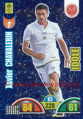 2018-19 - Panini Adrenalyn XL Ligue 1 - N° 387 - Xavier CHAVALERIN (Reims) (Idole)