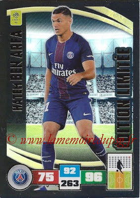 2016-17 - Panini Adrenalyn XL Ligue 1 - N° LE-HBA - Hatem BEN ARFA (Paris Saint-Germain) (Edition Limitée)