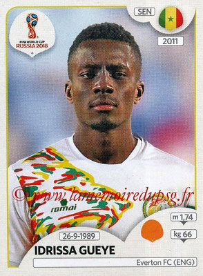 2018 - Panini FIFA World Cup Russia Stickers - N° 621 - Idrissa GUEYE (Senegal)