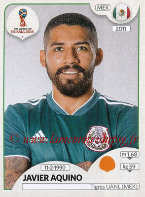2018 - Panini FIFA World Cup Russia Stickers - N° 465 - Javier AQUINO (Mexique)