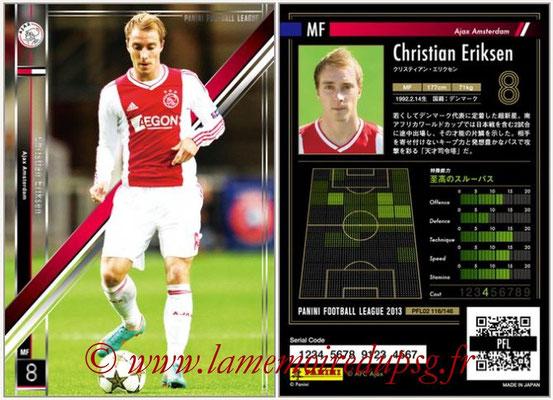 Panini Football League 2013 - PFL02 - N° 116 - Christian Eriksen ( Ajax Amsterdam )