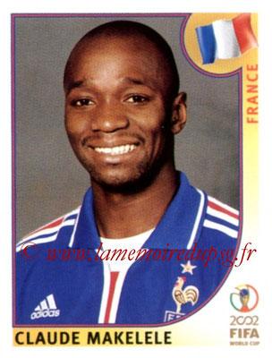 N° 036 - Claude MAKELELE (2002, France > 2008-11, PSG)