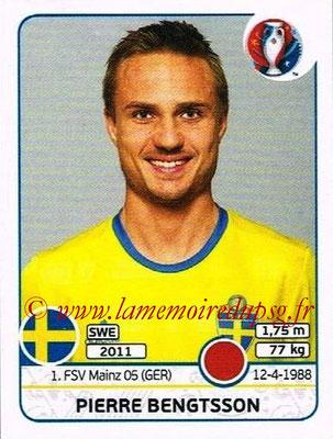 Panini Euro 2016 Stickers - N° 551 - Pierre BENGTSSON (Suède)