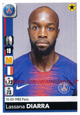 2018-19 - Panini Ligue 1 Stickers - N° 362 - Lassana DIARRA (Paris Saint-Germain)