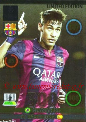 2014-15 - Adrenalyn XL champions League N° LE-NE - NEYMAR JR (FC Barcelone) (Limited Edition)