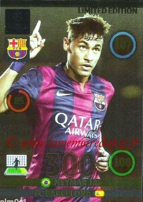 2014-15 - Adrenalyn XL champions League N° LE-NE - NEYMAR JR (FC Barcelone) (Limited Edition)