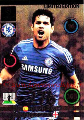 2014-15 - Adrenalyn XL champions League N° LE-DC - Diego COSTA (Chelsea FC) (Limited Edition)