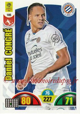2018-19 - Panini Adrenalyn XL Ligue 1 - N° 185 - Daniel CONGRE (Montpellier)