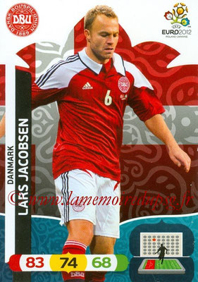 Panini Euro 2012 Cards Adrenalyn XL - N° 016 - Lars JACOBSEN (Danemark)
