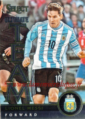 2015 - Panini Select Soccer - N° UT16 - Lionel MESSI (Argentine) (Ultimate Team)