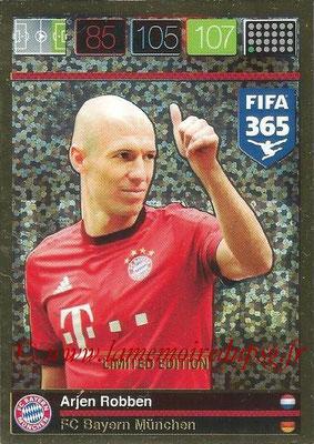 2015-16 - Panini Adrenalyn XL FIFA 365 - N° LE-AR - Arjen ROBBEN (FC Bayern Munich) (Limited Edition)