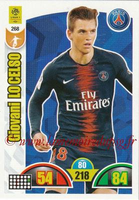 2018-19 - Panini Adrenalyn XL Ligue 1 - N° 268 - Giovani LO CELSO (Paris Saint-Germain)
