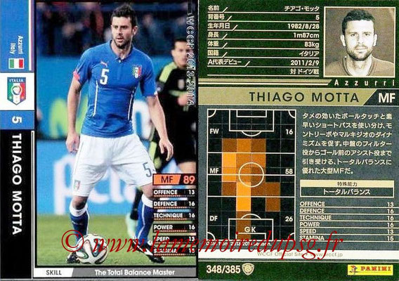N° 348 - Thiago MOTTA (Italie)