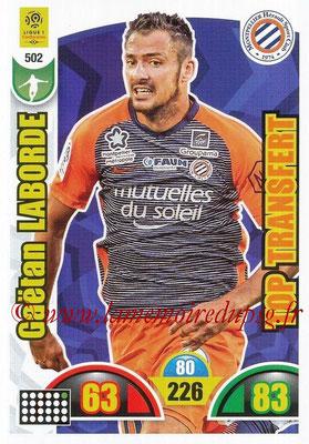 2018-19 - Panini Adrenalyn XL Ligue 1 - N° 502 - Gaëtan LABORDE (Montpellier) (Top Transfert)