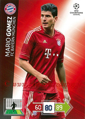 2012-13 - Adrenalyn XL champions League N° 055 - Mario GOMES (FC Bayern Munich)