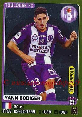 2015-16 - Panini Ligue 1 Stickers - N° 451 - Yann BODIGER (Toulouse FC) (Top Espoir)